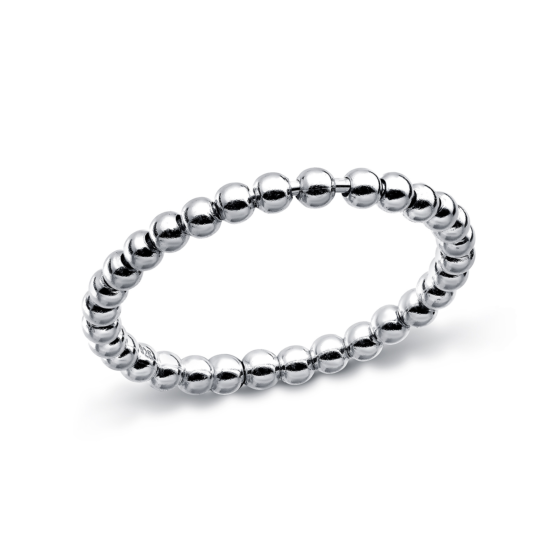 706-14101 - 925 Sterling Silver Ball Ring