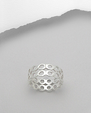 706-15678 - 925 Sterling Silver Infinity Ring