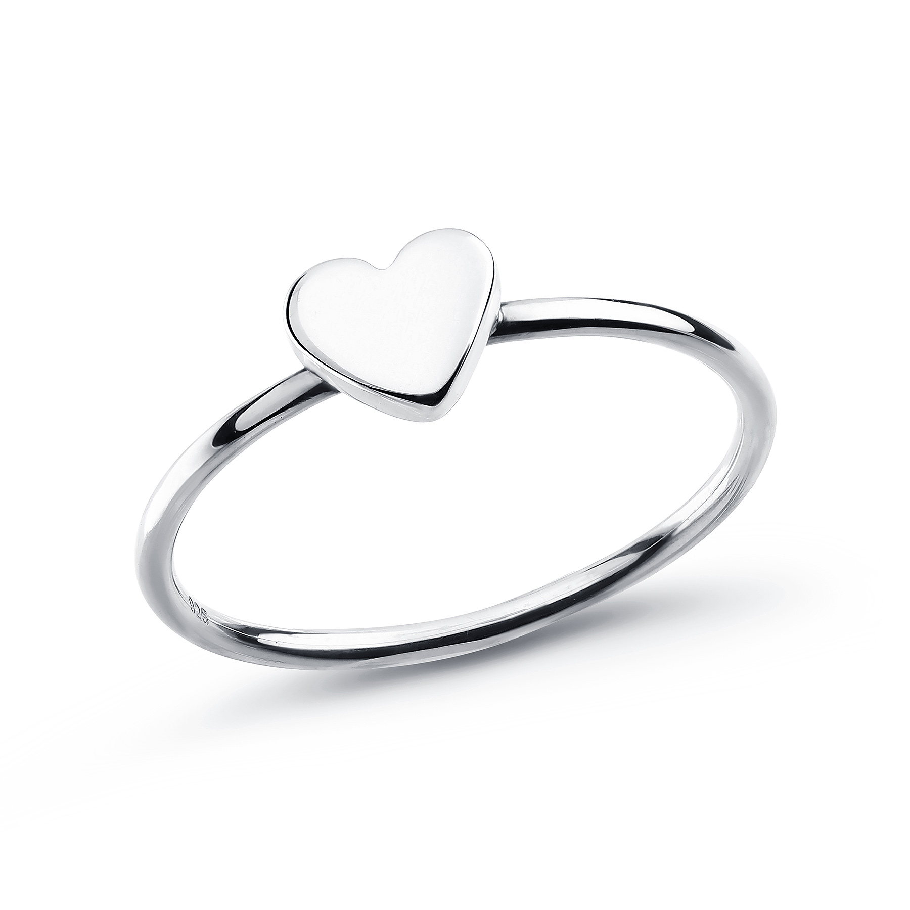 706-15795 - 925 Sterling Silver Heart Ring