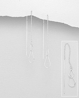 706-22607 - 925 Sterling Silver Links Earrings