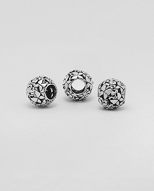 1559-359 - 925 Sterling Silver Butterfly Bead