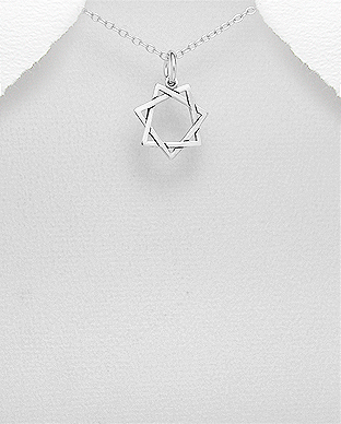 706-27841 - 925 Sterling Silver Oxidized Pendant