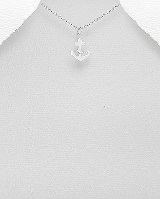 706-28315 - 925 Sterling Silver Anchor Pendant