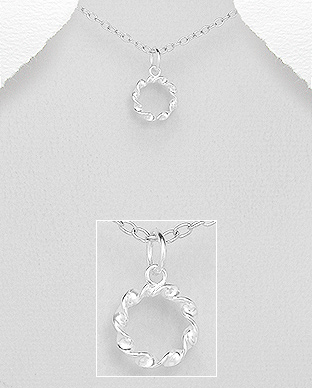 706-29327 - 925 Sterling Silver Pendant