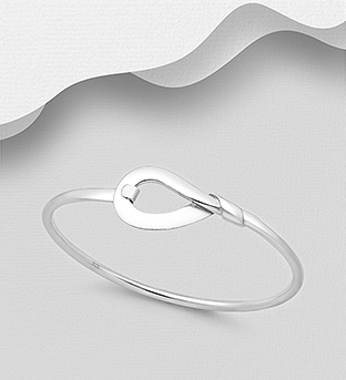 706-29634 - 925 Sterling Silver Bangle