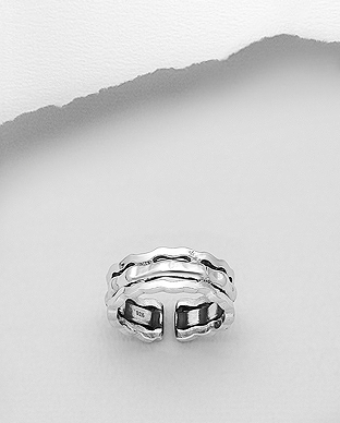 706-29659 - 925 Sterling Silver Oxidized Ring
