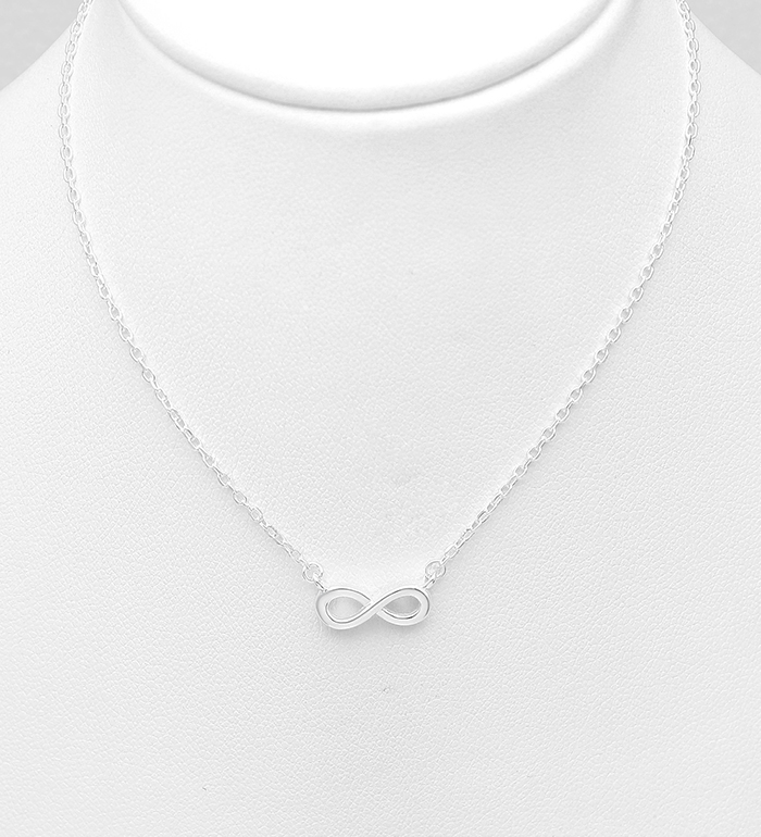 706-30817 - 925 Sterling Silver Infinity Necklace
