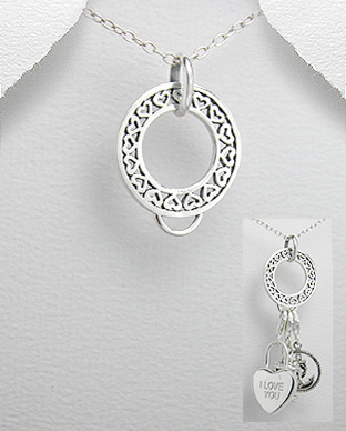 706-4814 - Pendant with an attachment for charms