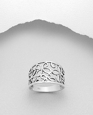 706-7232 - 925 Sterling Silver Butterfly Ring