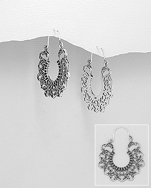 706-22909 - 925 Sterling Silver Earrings