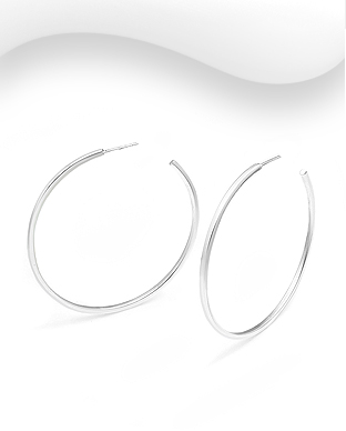 706-29847 - 925 Sterling Silver Push-Back Earrings
